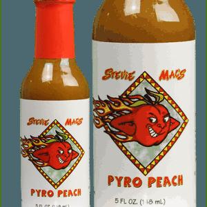 Pyro Peach Bottle