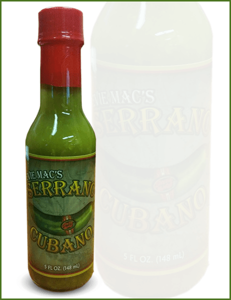 Serrano Cubano Bottle