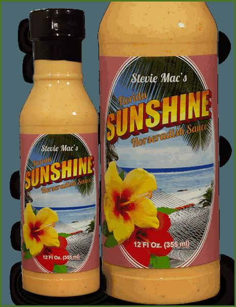 Sunshine Sauce Bottle
