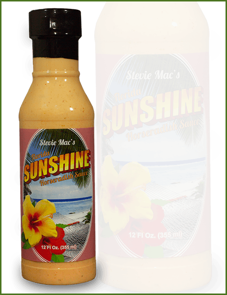 Florida Sunshine Sauce Bottle