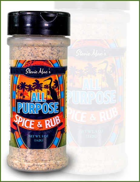 Stevie Mac's All Purpose Spice Rub